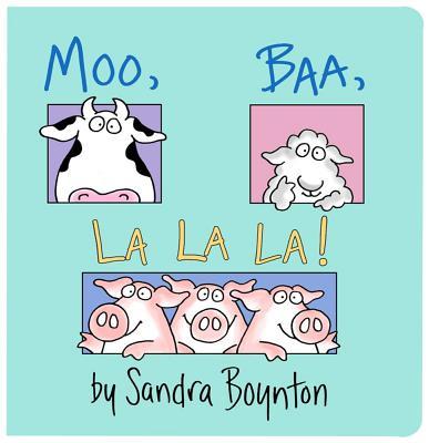 Moo, Baa, LA LA LA By Boynton, Sandra